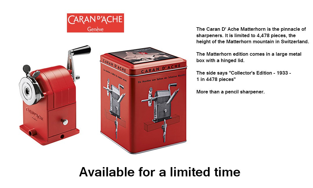 Caran dAche Metal Pencil-Sharpening Machine