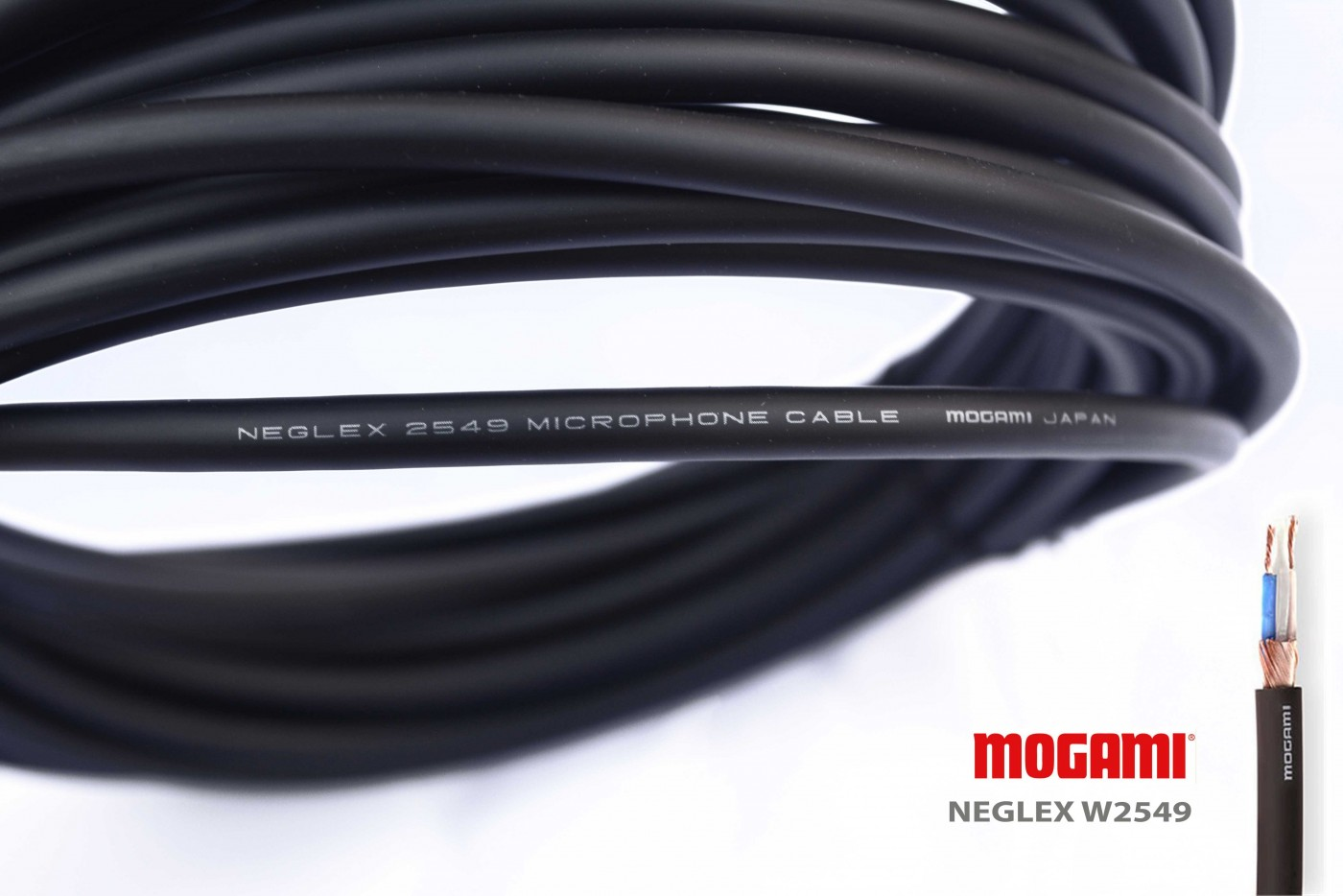 Mogami W2549 Cable Made In Japan Ideal For Xlr And Rca Style To Wiring Interconnects Sold By The Foot