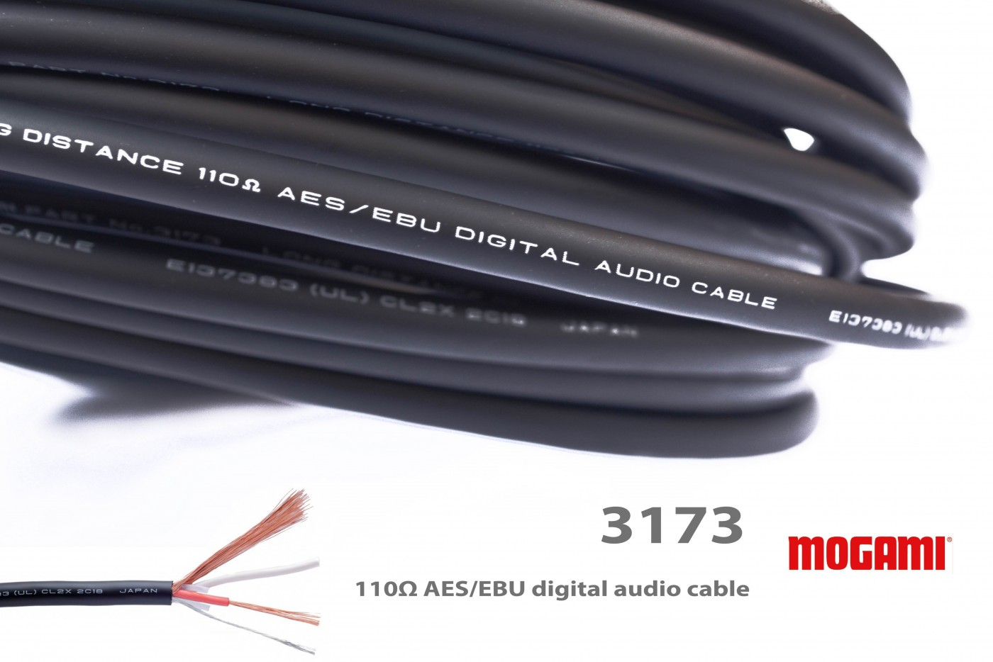 Mogami W3173 Cable (made in Japan) - ideal for long runs and XLR ...