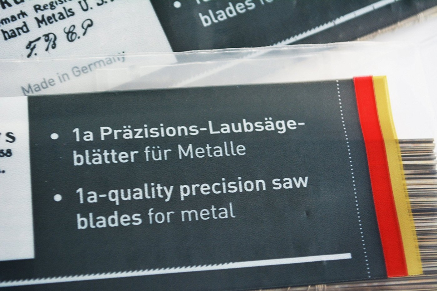 Choose sz 1 Thru 8 Size #1 Finest Made in Germany 12 Pack HERKULES Jewelers Sawblades
