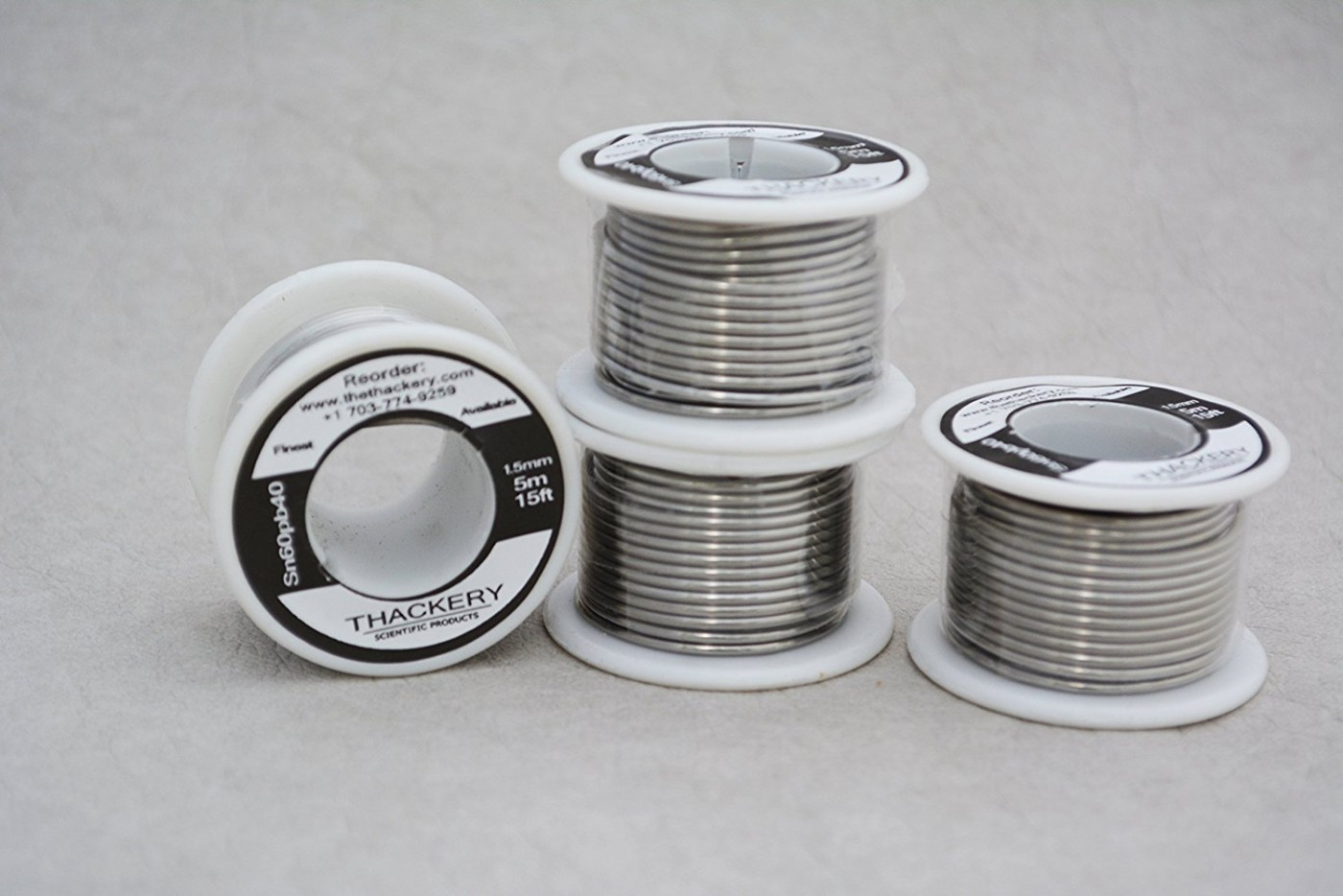 Thackery Sn60pb40 Flux Core Solder Wire - 1.5mm thickness - sold by ...