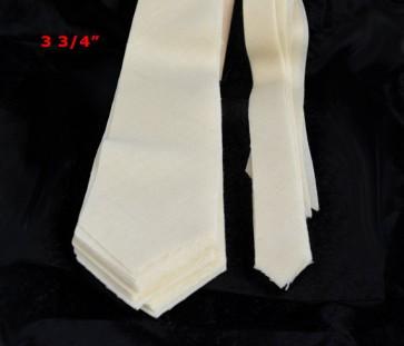 "PRE-CUT 3 3/4"" wide medium weight necktie interfacing / interlining, 100% wool W14/13-33TH AC Ter Kuile"