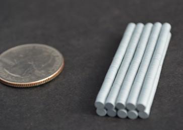 25 pcs DISK Magnets 3mm x 1mm PARYLENE C coated (hard to find!) N35 Neodymidium