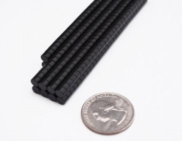 50 pcs EPOXY COATED DISK MAGNETS 4.5mm x 3mm - N42 Neodymium - USA Seller
