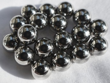 "5mm (13/64"") round spheres / balls 25 / 50 / 100 / 250 pcs STRONG MAGNETS - N35 Neodymium - rare Earth"