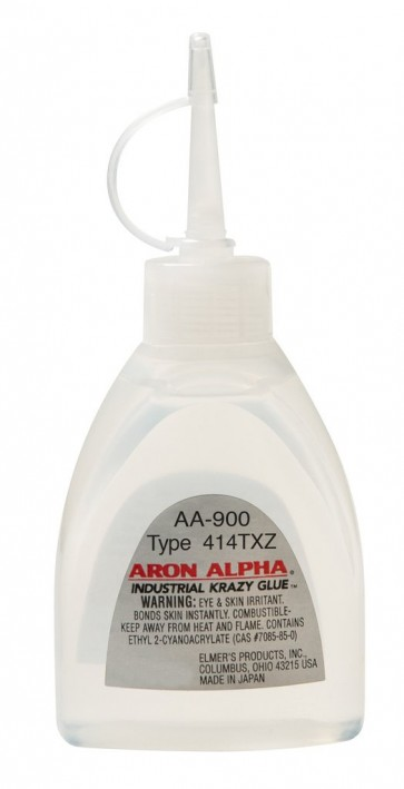 Aron Alpha 414TXZ Impact Resistant Industrial Cyanoacrylate Adhesive Gel for Crafting and Magnets - .7oz bottle - made in JAPAN