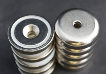 Custom Magnet Order for CH - 100 1 1/4 x 5/16 Pot Magnets