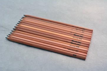 KIRIN Pencil Company W-12 Triangular Writing Pencil - 2B - made in JAPAN - sold in lots of 3, 6 or 12