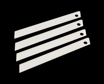 "Ceramic 9mm (3/8"") Replacement Blade for use with retractable cutter / box cutters - lasts 20 to 30x longer than regular blades"