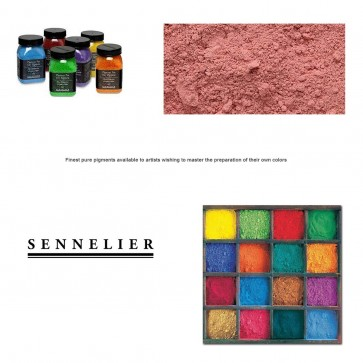 Sennelier #617 - Dry Pigment 100g Jar Cadmium Red Purple Hue
