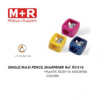 Mobius + Ruppert (M+R) 0316 SINGLE MAXI pencil sharpener