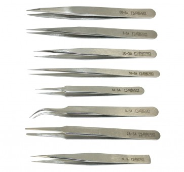 Rubicon Tweezers - choose from 8 sizes - Made in Switzerland