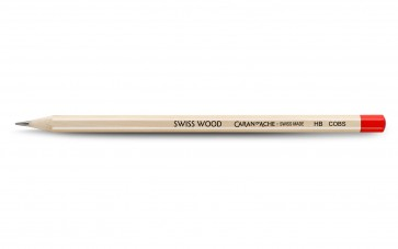 Caran D'ache Swiss Wood CWPE SCOTS PINE PENCIL - HB - Made in Switzerland - 10 pack