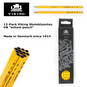 12 pack viking skoleblyanten hb school pencil made in for Viking pencils