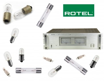 ROTEL RB-2000 Ampliifier: replacement bulbs