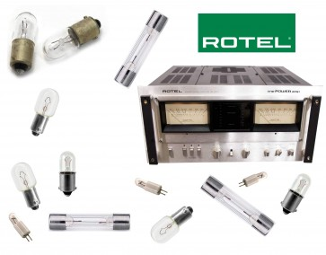 ROTEL RB-5000 Ampliifier: replacement bulbs