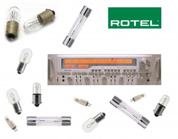 ROTEL RX-1603 Receiver: replacement bulbs