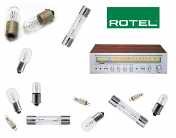 ROTEL RX-303 Receiver: replacement bulbs