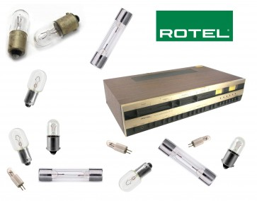 ROTEL RX-7707 Receiver: replacement bulbs