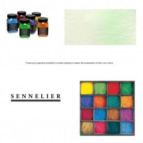 Sennelier #10 - Dry Pigment 15g Jar Phosphorescent Green