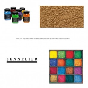 Sennelier #30 - Dry Pigment 90g Jar Yellow Gold