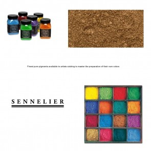 Sennelier #40 -  Dry Pigment 90g Jar Red Gold