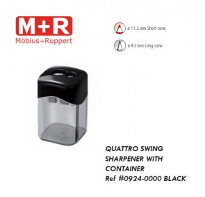 Mobius & Ruppert (M+R) 0924 Quattro Swing magnesium sharpener, lead or color