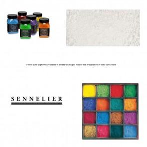 Sennelier #128 - Dry Pigment 180g Jar Lithopone white