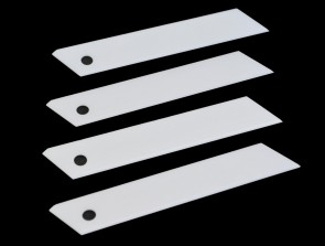 Ceramic 18mm Replacement Blade for use with retractable cutter / box cutters - lasts 20 to 30x longer than regular blades