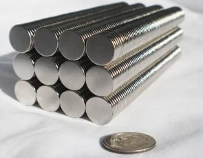 """9mm X 1.5mm (5/16"""") DISK MAGNETS N35 Neodymium - 50 / 100 / 250 pcs - rare Earth (A7)"""