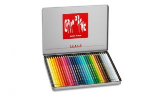 Caran d'Ache - PABLO 30 color assortment metal box set - Made in Switzerland - finest in the world!