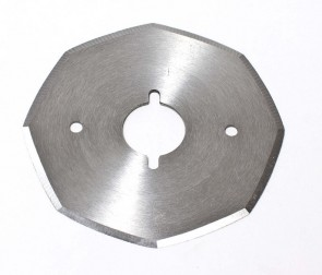 80MM Octagonal (8 side) Replacement Blade for Heavy Duty WD2 Style ELECTRIC Rotary Cutter