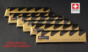48 Pack PIKE Jewelers Sawblades - finest! MADE in SWITZERLAND - choose sz 1 thru 6