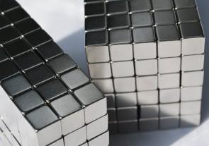 8mm X 8mm x 8mm cubes / squares - 25 / 50 / 100 / 250 pcs STRONG MAGNETS - N48 Neodymium - rare