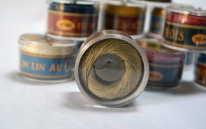 No. 205 HAVANA Fil Au Chinois WAXED LINEN Single Ply Sewing Thread in 50m Capsule - Made in France