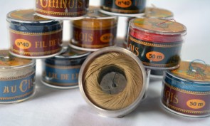 No. 282 GABARDINE Fil Au Chinois WAXED LINEN Single Ply Sewing Thread in 50m Capsule - Made in France
