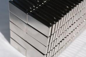 "25/50/100 RECTANGULAR MAGNETS 3/4"" x 1/2"" x 1/8"" N52 Rare Earth Neodymium"