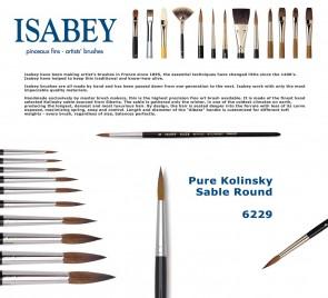 Isabey Pure Kolinsky Sable Retouching 6229