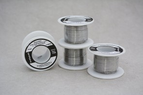 Thackery Sn60pb40 Flux Core Solder Wire - 1mm thickness - sold by the foot/meter