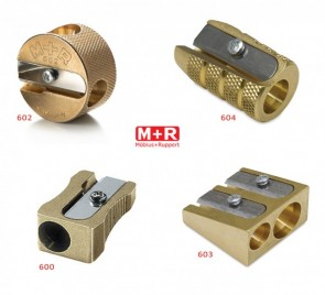 Mobius + Ruppert (M+R) Brass Pencil Sharpener
