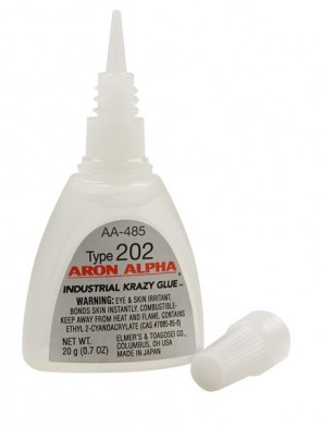 Aron Alpha 202 Industrial Cyanoacrylate Adhesive for Crafting and Magnets - .7oz bottle - made in JAPAN