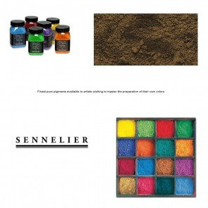 Sennelier #205 - Dry Pigment 120g Jar Raw Umber