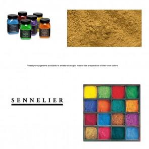 Sennelier #208 - Dry Pigment 120g Jar Raw Sienna