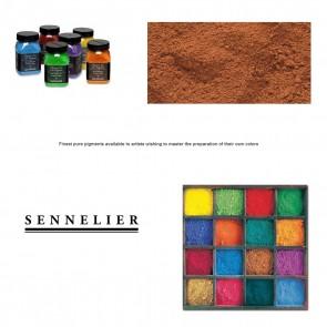 Sennelier #211 - Dry Pigment 140g Jar Burnt Sienna