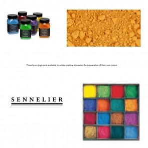 Sennelier #254 - Dry Pigment 110g Jar Light Yellow Ochre