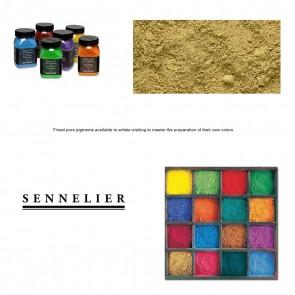 Sennelier #255 - Dry Pigment 90g Jar Brown Ochre