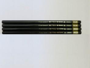 "VINTAGE MITSUBISHI 2800 ""Fine Lead"" Pencil - F - Made in Japan"
