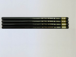 "VINTAGE MITSUBISHI 2800 ""Fine Lead"" Pencil - 2H - Made in Japan"