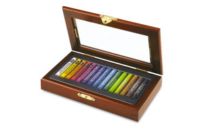 Caran d'Ache - GIFT BOX SET - ASSORTMENT OF 15 NEOPASTEL® COLOURS
