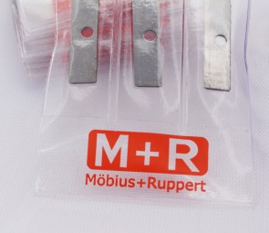 Mobius + Ruppert (M+R) Sharpener Replacement Blades for BULLET/GRENADE sharpeners - 3 pack - Made in Germany - finest in the world!